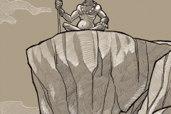 Diosa IANNA te ruego contengas el mal hasta que Jarkum esté preparado para afrontar su sino.
